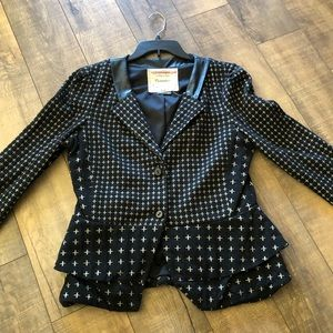 Anthropologie Cartonnier Crossy Jacket Size Large
